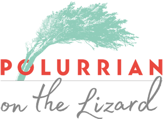 Polurrian on the Lizard corporate logo