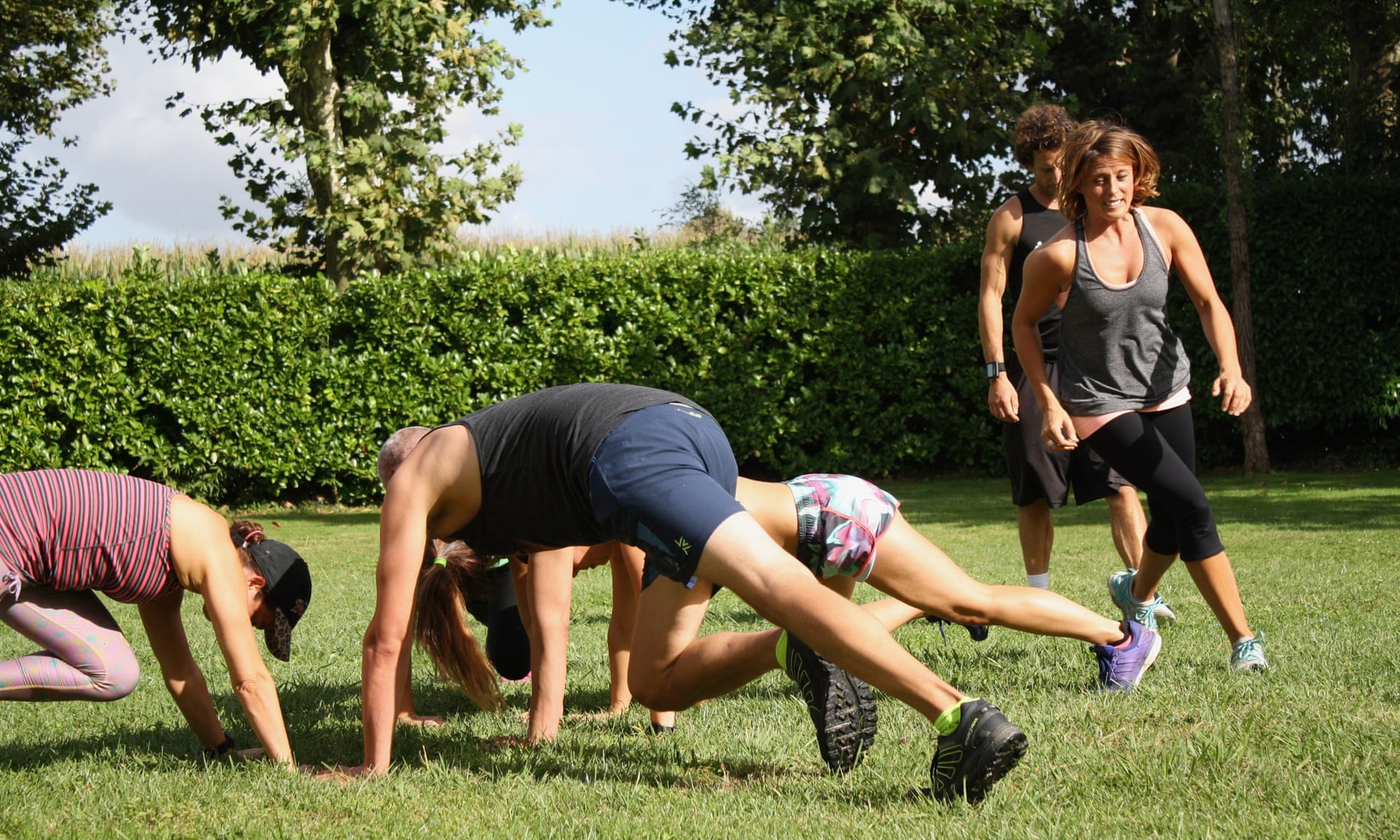 Fast Track fitness retreat bootcamp