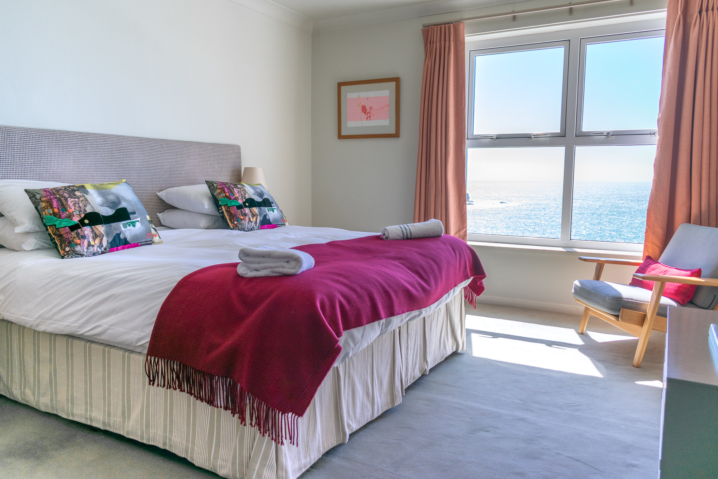Room with a seaview.