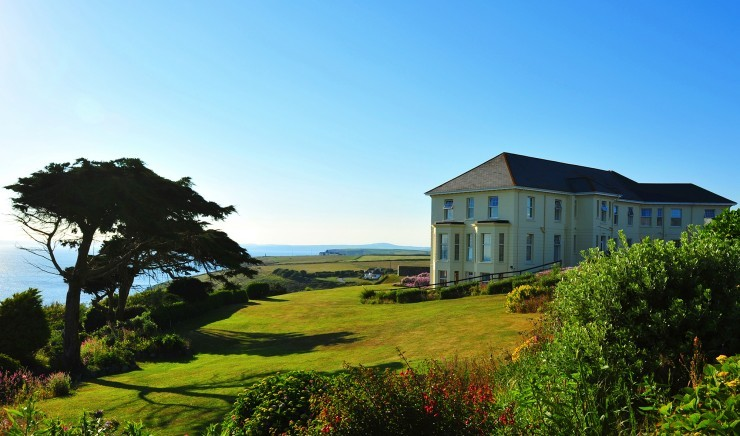 Polurrian Bay, a luxury hotel in Cornwall