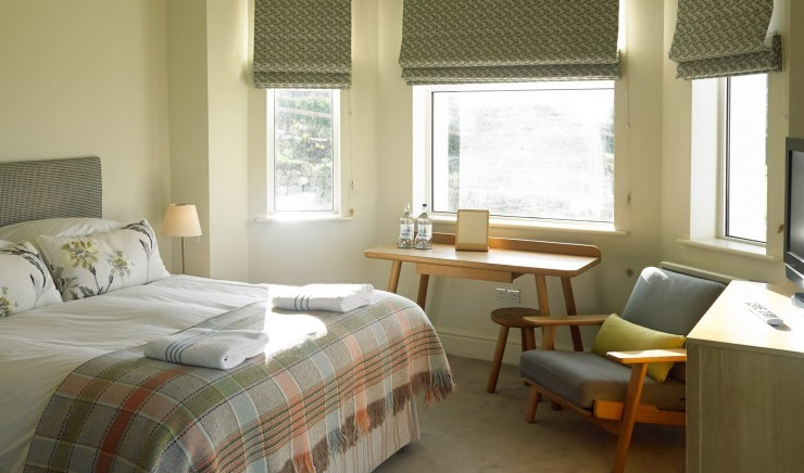 Family hotel room in Mullion, Cornwall