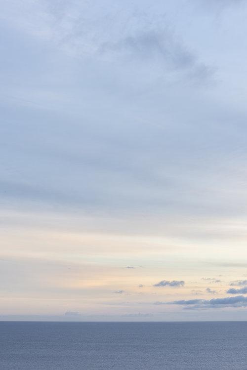 Many beautiful sunsets.