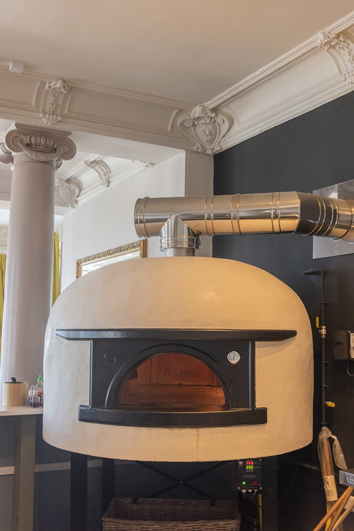 Woodfired Gozney oven.